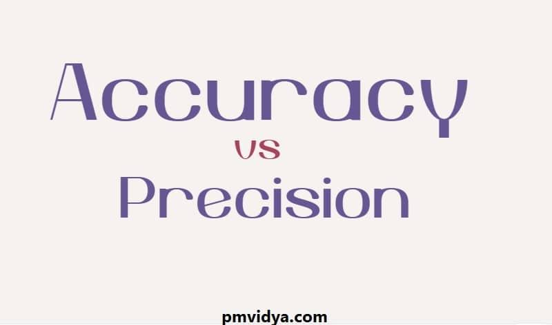 Accuracy vs Precision - PM Vidya