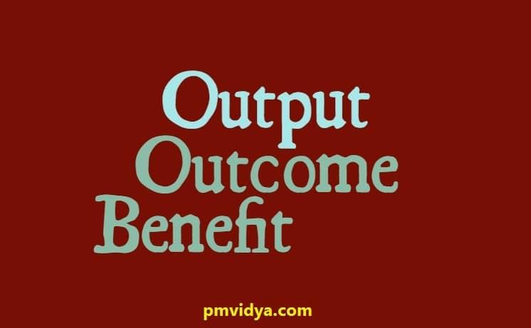 output outcome benefit