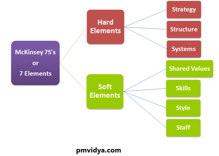 Mckinsey's 7s or & elements