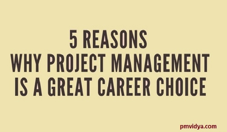 Project management career choice