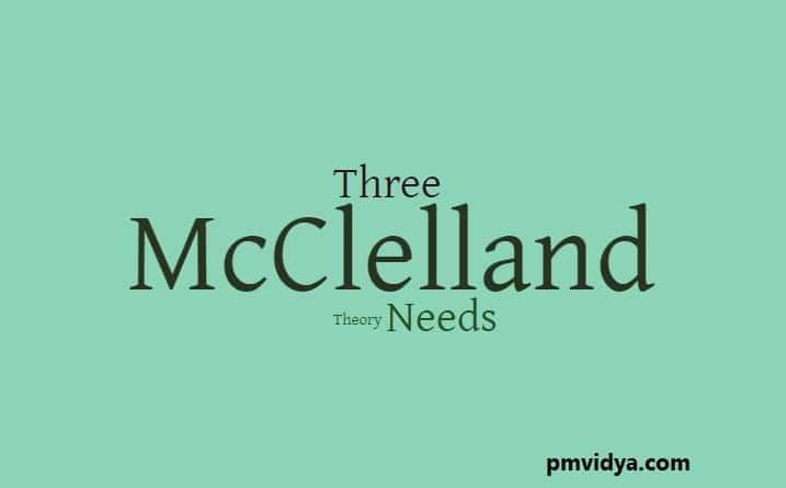 McClelland Theory of needs