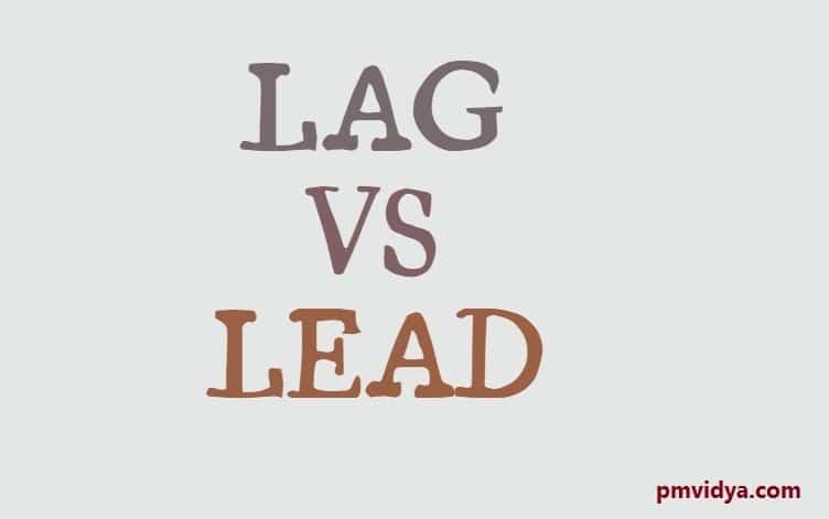 Lag vs Lead