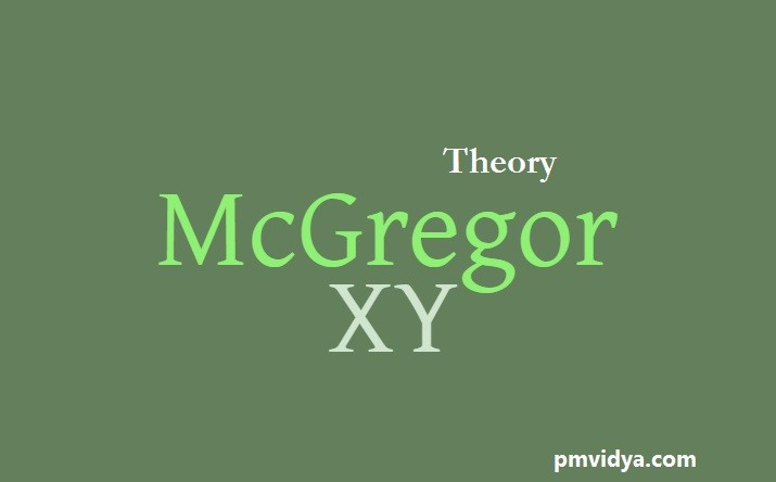 McGregor's theory of x and y