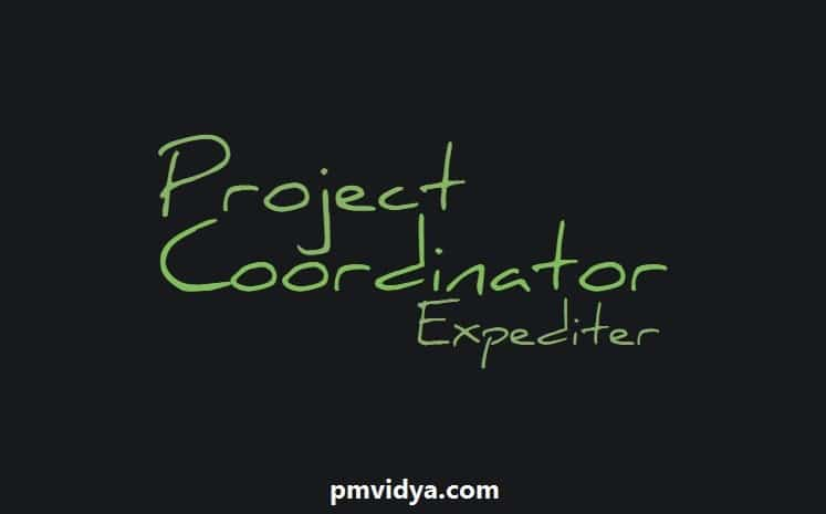 project coordinator vs project expediter