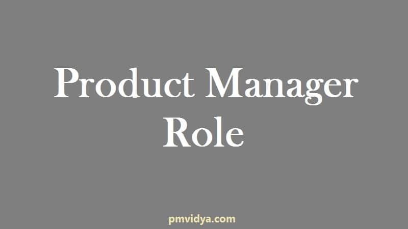 Product Manager Role